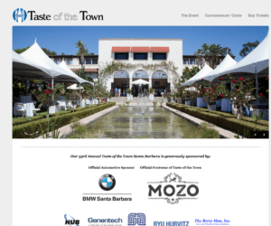 taste of the town website