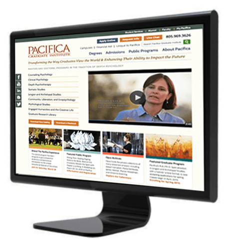 example of first click Pacifica webdesign